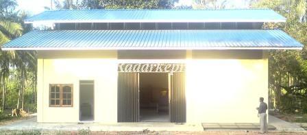 Gudang pabrik makanan ikan barakit