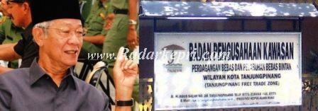 H M Sani dan plank nama BPK