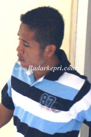 Hendri Sudriman Situmorang, mantan anggota TNI-AD Yonif 134 di sidangkan di PN Tanjungpinang karena mencuri motor di sejumlah tempat.