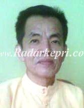 Kepala Dinas Kesehatan Kabupaten Lingga, dr Ignasius Luti MPH,
