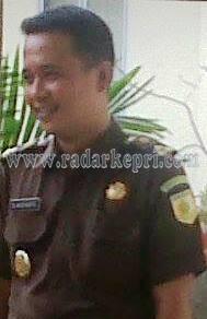 Kasi Pidsus Kejari Ranai, Bambang Widianto SH