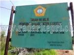 Inilah lahan Pemkab Karimun di Kampung Batu Putih yang ditolak warga dijadikan tempat pembuangan sampah.