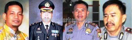 Iptu Effendri Alie, Kompol Hotlan Butar-Butar, AKP Soeharnoko dan Kompol Jaswir