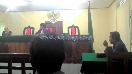 Sidang gugatan H Ahmad Dahlan SH