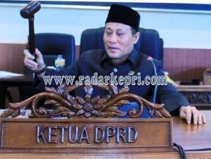 Ketua DPRD Lingga Periode 2009-2014, H Kamarudin Ali SH.