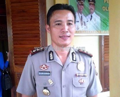 AKBP Surisman, Kapolres Lingga.