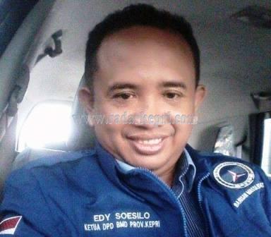 Ketua Barisan Muda Demokrat Indonesia Provinsi Kepri, Edy Soesilo.