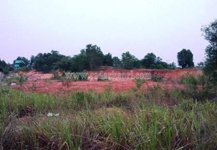 Inilah lokasi pembangunan kantor Camat Bukit Bestari yang batal dilaksanakan.