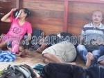 Para TKI Ilegal yang berhasil diselamatkan DJBC Karimun.