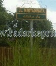Jalan RE Martadinata tempat IRT ditabrak saat sedang lari pagi.