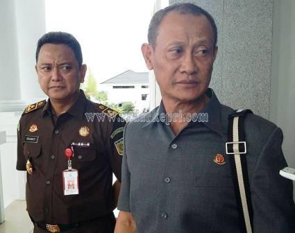 Kajati Kepri, Andar Perdana Widiastono SH MH dan Aspidsus Kejati Kepri, N Rahmat SH MH.