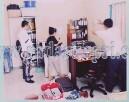 Tim identifikasi saat melakulan olah TKP di kantor PT S&B Investama.