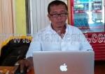Kuncus Simatupang, ketua LSM ICTI NGo Kepri yang melaporkan kasus korupsi SPAM Natuna ke KPK.