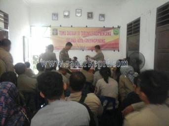 Suasana pemilihan ketua Tagana Kota Tanjungpinang.