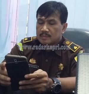 Wiwin Iskandar SH, Kasi Penkum Kejati Kepri.