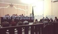 Delapan orang saksi saat memberikan keterangan untuk terdakwa Imalko S Sos.
