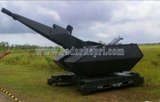 Salah satu alutista TNI AU yang akan digunakan untuk latihan tempur di Natuna.