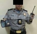 Anang Wijaya, polisi gadungan yang ditangkap Brimob Polda Kepri.