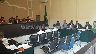 Tiga saksi yang dihadirkan JPU untuk 3 terdakwa korupsi Puskel Anambas.