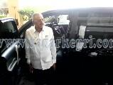 Bupati Natuna, Drs H Hamid Rizal yang menangguhkan penertiban cafe remang-remang.